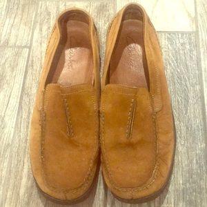 Men's leather slip on